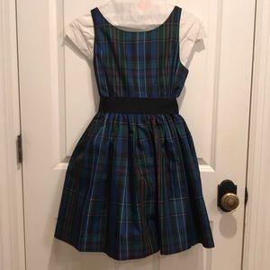 Ralph Lauren girls holiday dress.
